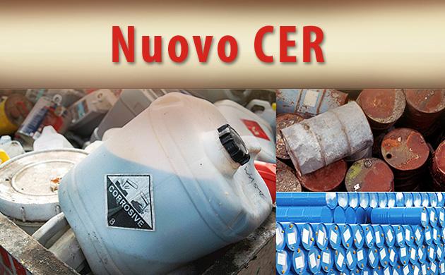 Ti forniamo consulenza per la nuova classificazione dei rifiuti